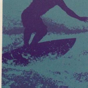 DRAP DE PLAGE SURF BLEU