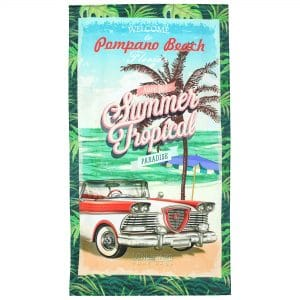DRAP DE PLAGE SUMMER TROPICAL