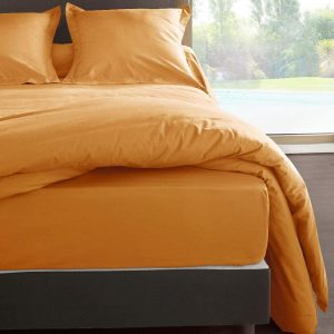 DRAP HOUSSE 140 X 190 PERCALE UNI MANGUE