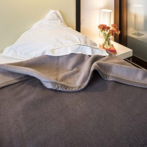 la chaleur naturelle de la couverture en laine
